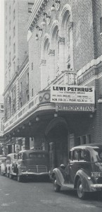 Även i USA var Lewi Pethrus en känd och anlitad predikant.